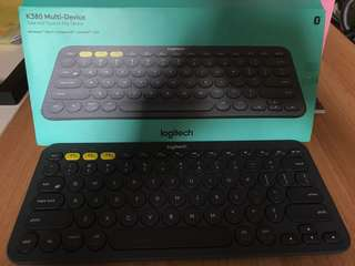 logitech 藍芽鍵盤