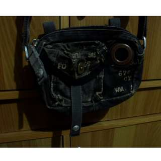 Tough Cool Maong Sling Bag Slightly Used SUPERSALE