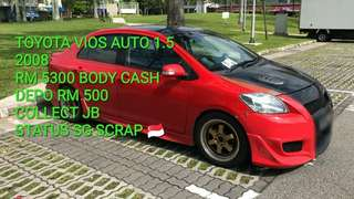 Toyota vios 1.5 manual 2008