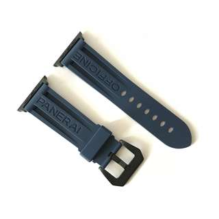 Apple Watch Navy Rubber Strap - 42mm Only