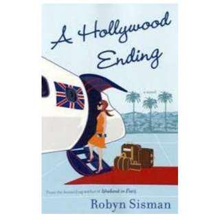 A Hollywood Ending Book Robyn Sisman Chic Flick LV Weekend in Paris starlet