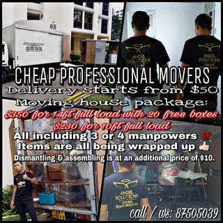 Movers & Delivery 🙌🏻