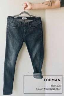 Topman Spray On Skinny Jeans (worn twice)