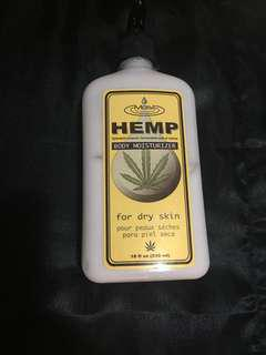 Hemp moisturizer for dry skin