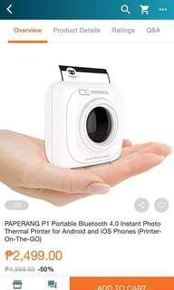 PAPERANG (Pocket Photo Printer)