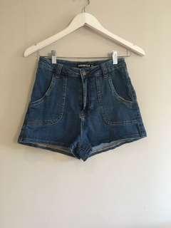 Danger field shorts