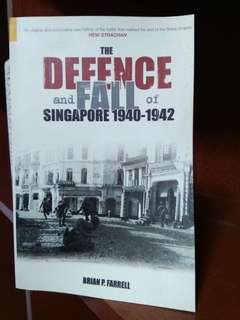 defence and fall of singapore history war