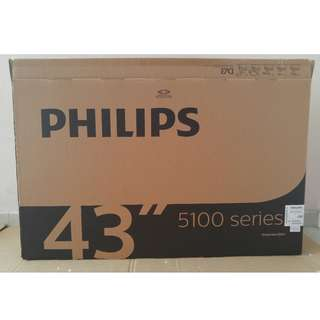 "Philips 43"" TV Empty Box"