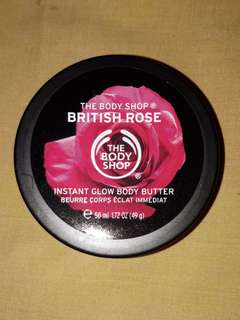 THE BODY SHOP INSTANT GLOW BODY BUTTER