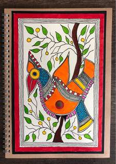 Madhubani cover journal