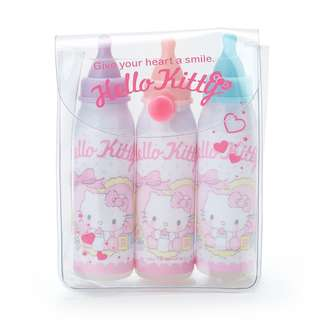 Japan Sanrio Hello Kitty Milk Bottle Color Pen Set