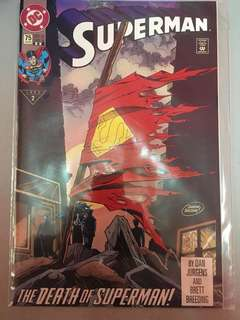 Death of Superman #75 '93