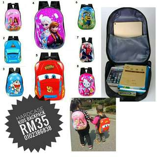 School Bag backpack hardcase for kids