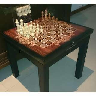 Large Size Handmade Chess & Backgammon