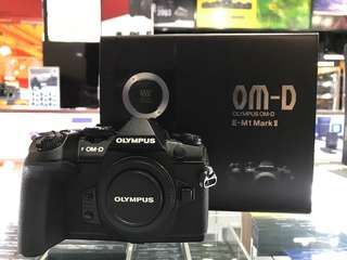Olympus OMD E-M1 Mark II Body 95% new.