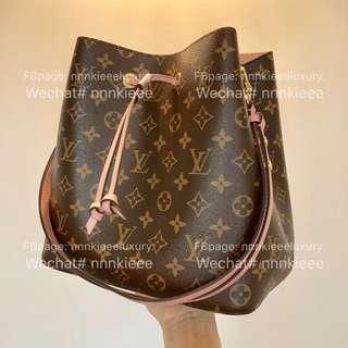 購自歐洲100% Authentic & brand new Louis Vuitton Neonoe in pastel pink 淺粉