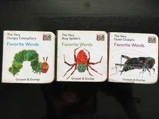 Eric Carl mini board book
