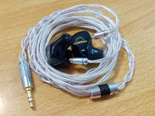 🚚 Toxic Cable Adder SPC LITZ 2 Pin IEM upgrade cable
