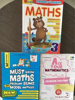 (Each) P3 Maths Assessment Books