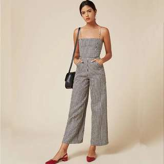 PO: Gizzy Gingham Jumpsuit
