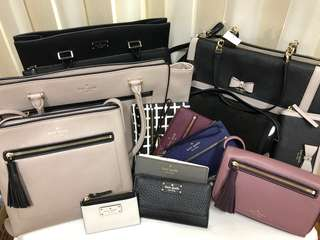 Kate Spade bags and wallets for sale!