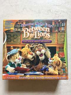Between the Lions - Get wild about Reading - Phonics made easy - 5 VCD Boxset