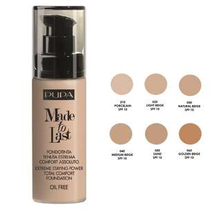 Pupa MAde to LAst Total Comfort Foundation 30ml
