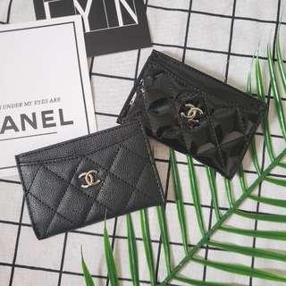 限時優惠 chanel 卡片套卡圖卡包 card holder 化妝櫃贈品