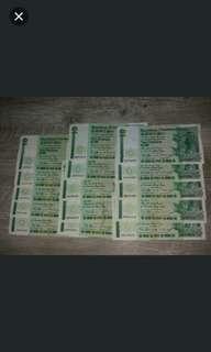 十五張綠渣打青蟹