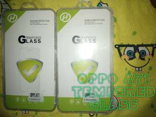 Oppo A71 Tempered Glass (not full)