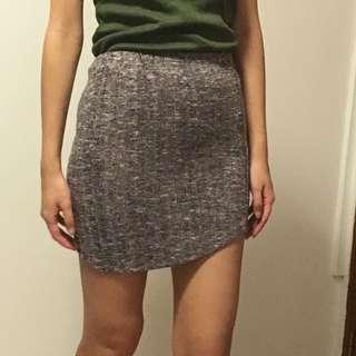 Knit bodycon skirt