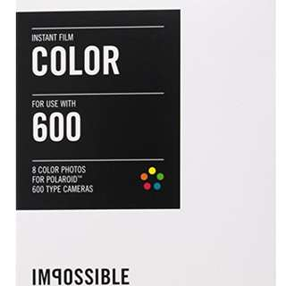 Impossible Men's 600-Type Camera Color Instant Film