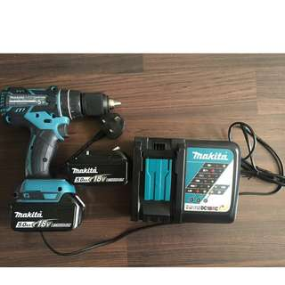 NEW Makita 18V LXT Cordless Hammer Drill (DHP480). Full set or bare unit.
