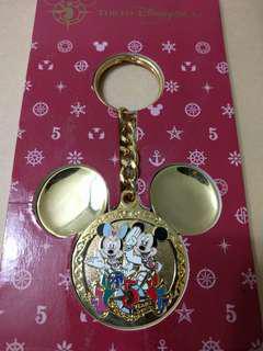 🚚 米奇 米妮 東京海洋迪士尼 鑰匙圈 5周年 絕版品 TDS 東京迪士尼