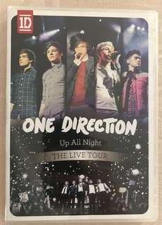 🚚 One Direction - Up All Night (The Live Tour)