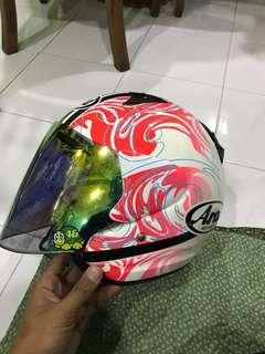 Arai Szf camo lady pink Helmet