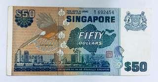 Singapore $50 note