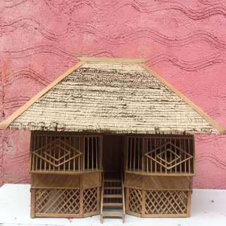 Miniature Nipa Hut (Medium Size)