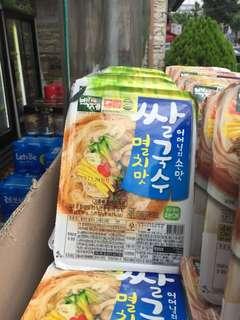 🚚 韓國BJ 百濟 即食米線