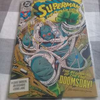 Superman Man of Steel 18 1st full Doomsday Appearance