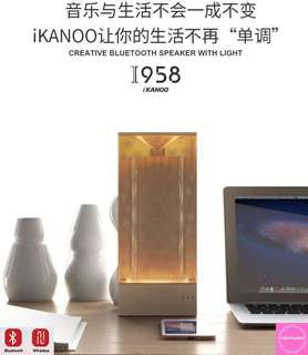 🚚 BN ikanoo Creative Bluetooth Wireless Speaker with Light