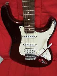 Electric Guitar Fender Stratocaster Bullet