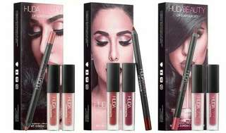 lipcream lipliner huda beauty 3in1