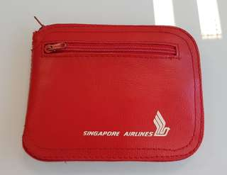 Singapore Airlines SIA Travel Foldable Shopping Bag (Red)