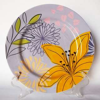 9' Side Plate AW 287 Leaves