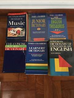 Dictionaries English/Chinese