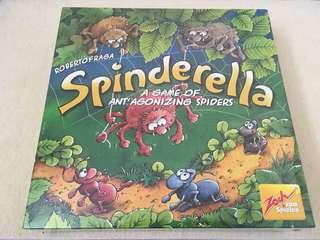 Spinderella 蜘蛛三兄妹 桌遊