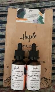 Haple rice brand & grapeseed oil