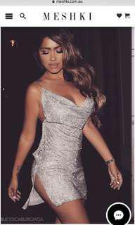 Meshki Alessandra dress brand new rtp $450