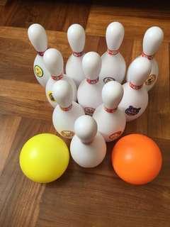 麵包超人保齡球玩具
